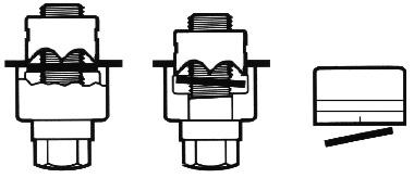 Blechlocher Abfallstück entfernen